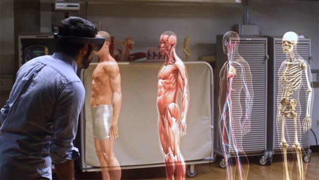 Hololens de Microsoft será una herramienta impresionante para la enseñanza y medicina