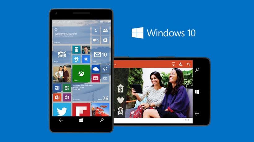 Lanzamiento Windows Phone 10