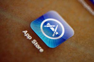 Tienda de descargas virtual de Apple, la App Store.