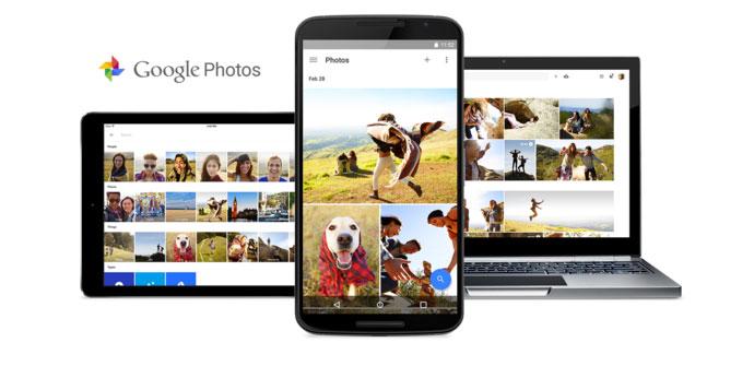 Google Fotos en varios dispositivos