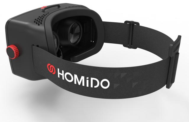 Homido VR realidad virtual