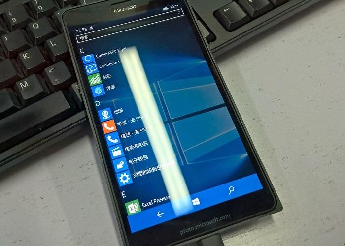 Nuevo Lumia 950