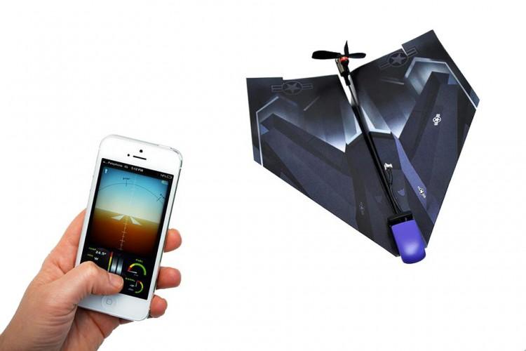 PowerUp 3.0 se puede manejar con tu teléfono móvil, móvil gracias a una aplicación. Fuente:
