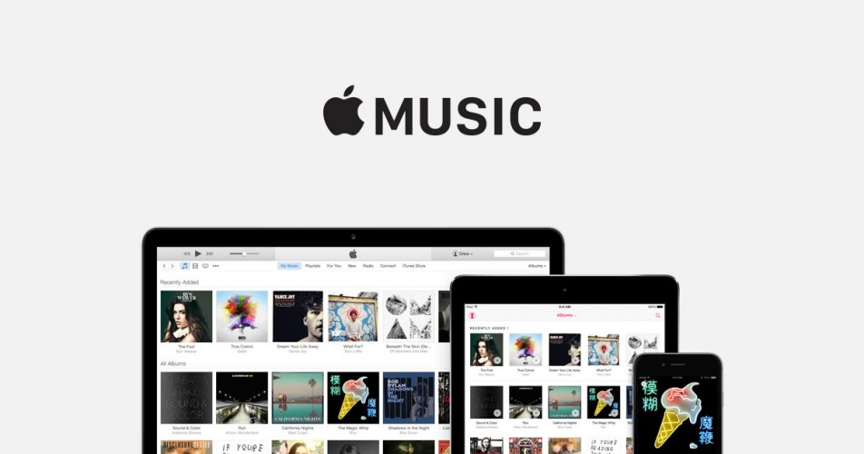 Apple Music para Android. Fuente: Apple