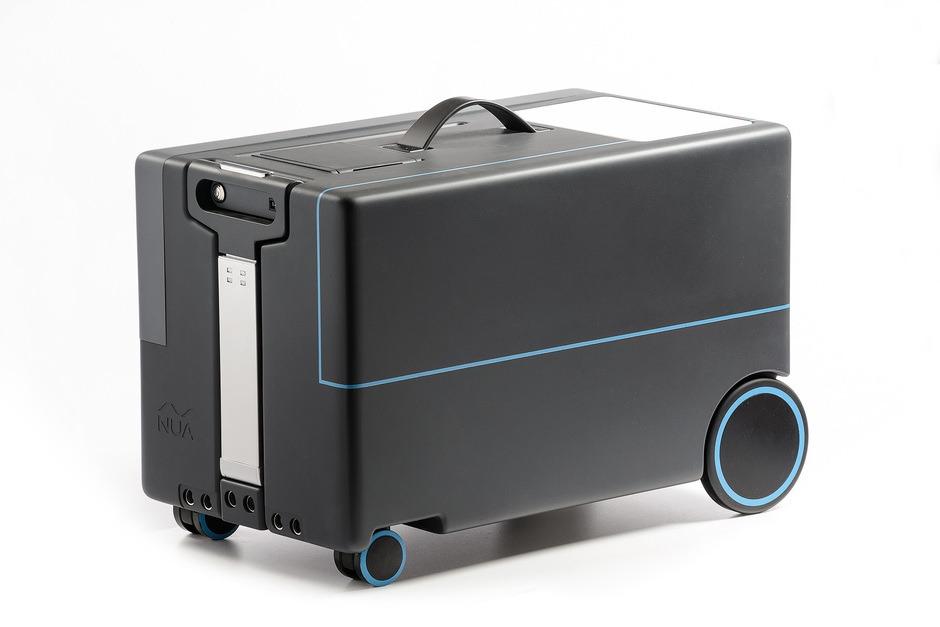 Inventan una maleta robot que te sigue a todas partes