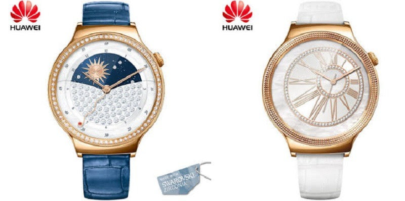 Huawei Elegant Watch y Huawei Jewel Watch