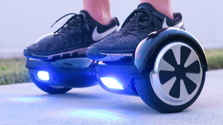 Un tipo de scooter eléctrico o hoverboard, el Zergo G.