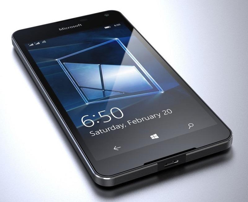 Lumia 650, el nuevo móvil inteligente de Microsoft
