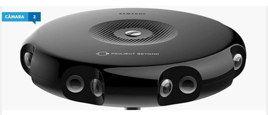 Samsung podría lanzar una cámara de 360 grados