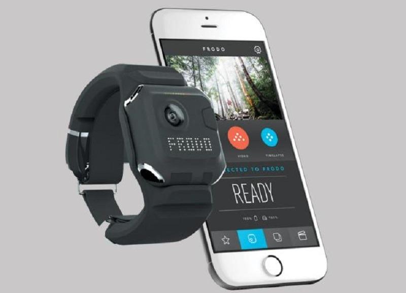 Frodo, una cámara de acción wearable con edición de vídeo