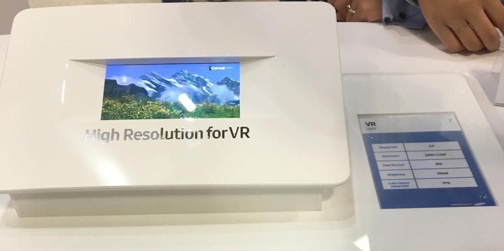 El próximo teléfono de Samsung tendrá una pantalla especial para la VR