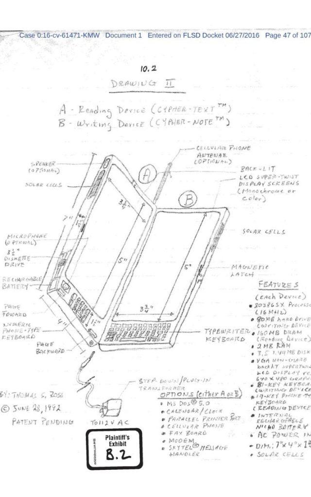 Patente del iPhone en 1992