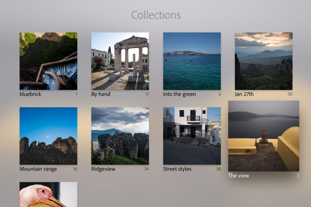Lightroom en el Apple TV