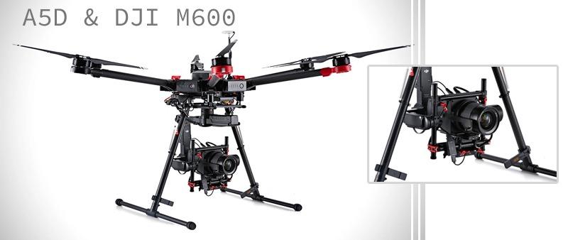Drone A5D-M600, el drone surgido de la unión de Hasselblad y DJI