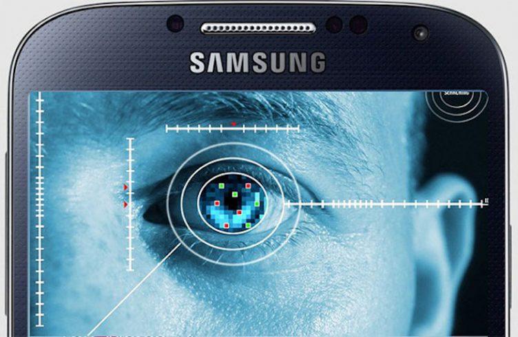 Escáner de iris del Galaxy Note 7
