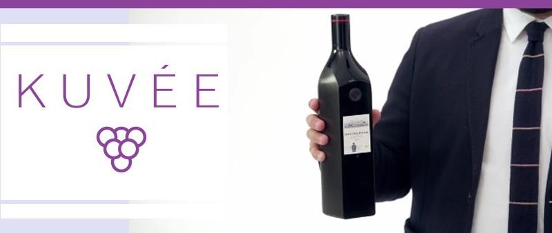 Kuvee Smart Wine, un gadget para los amantes del vino