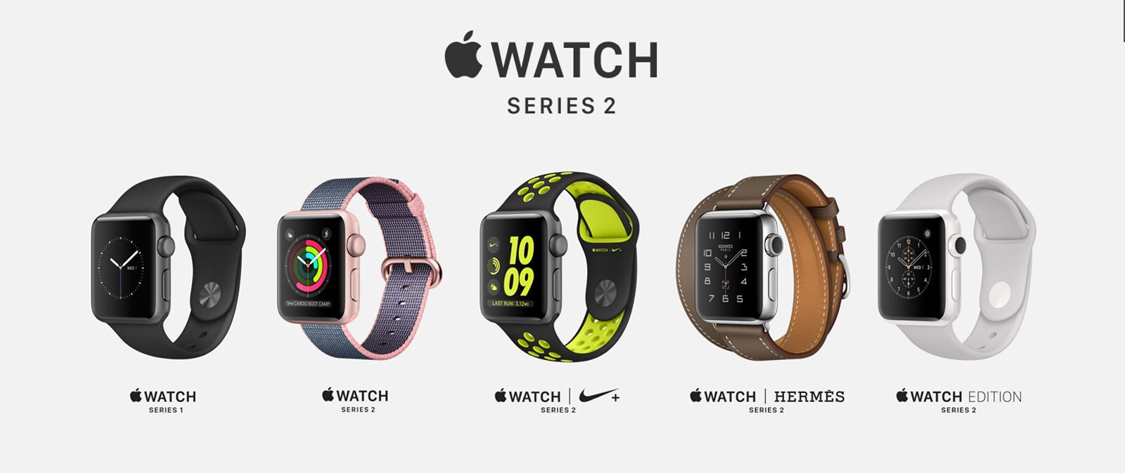Apple Watch Series 2 se renueva enfocándose en el deporte