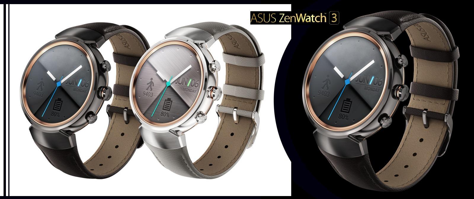 Asus ZenWatch 3, el reloj inteligente con diseño circular