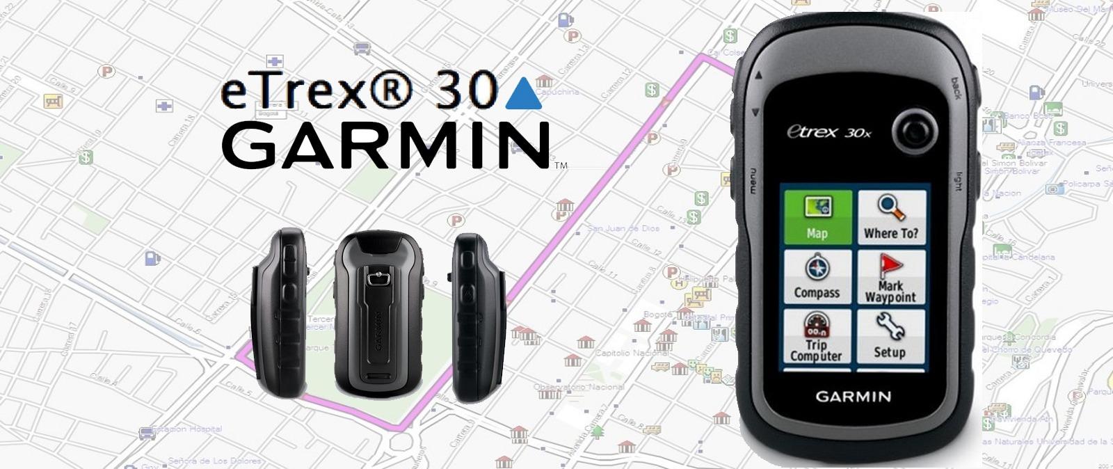 Garmin presenta el nuevo modelo de su GPS llamado Etrex 30X
