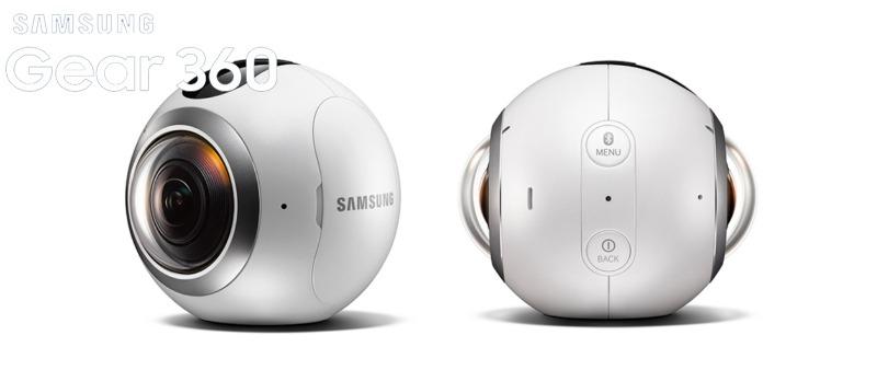 La cámara Samsung Gear 360 llega a las tiendas