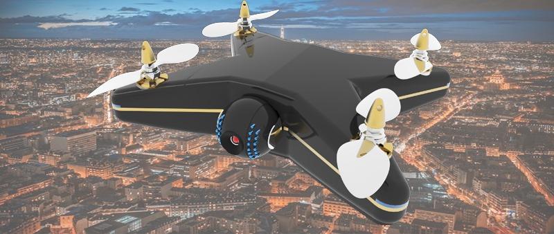 Vigila tu casa con drone cardinal