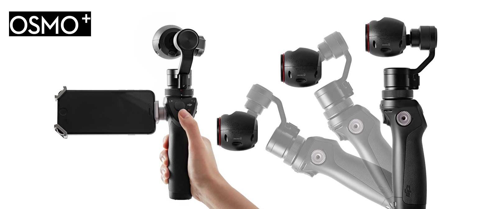 Osmo+, la nueva versión mejorada de la cámara de DJI