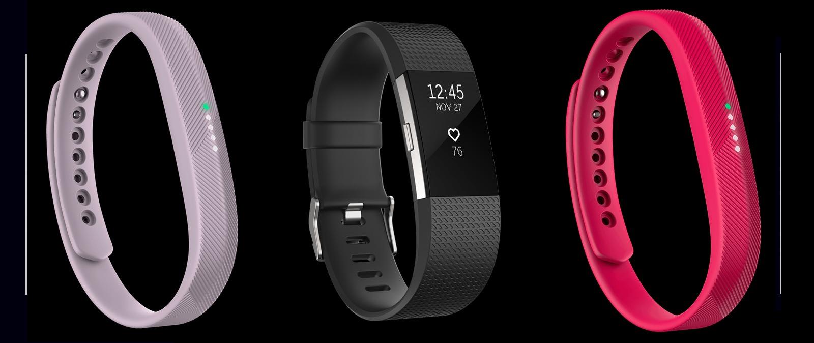 Charge 2 y Flex 2, los nuevos weareables de Fitbit
