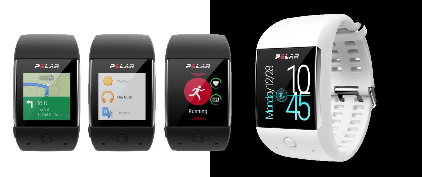 Polar M600, el primer reloj de Polar con sistema Android Wear
