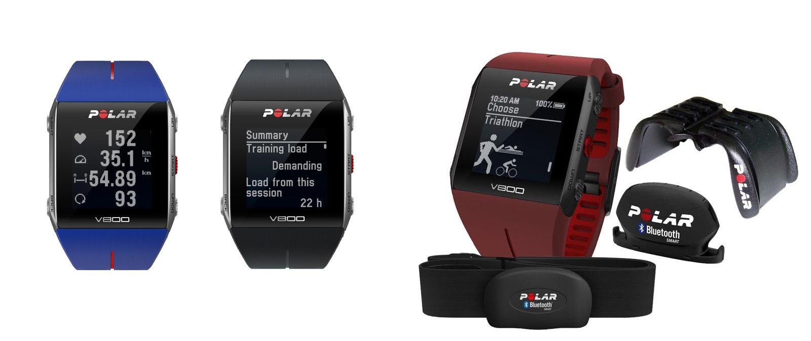 Polar V800, un smartwatch para multideporte