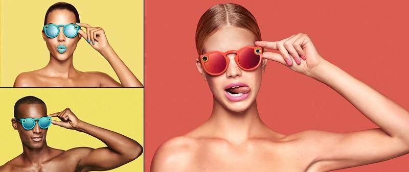 Spectacles de Snapchat