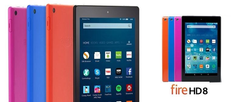 Fire HD 8, la nueva tablet de Amazon
