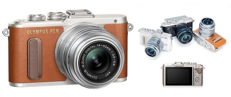 Olympus Pen E-PL8, una cámara con diseño retro