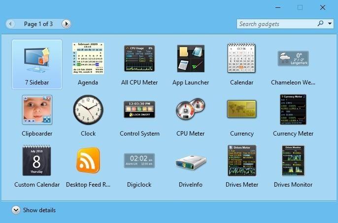 ¿Echas de menos los gadgets de escritorio de Windows?