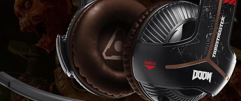 Auriculares Thrustmaster Y-350X Doom Edition