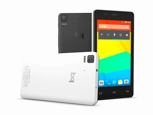 Aquaris E4.5, otro buen smartphone de BQ