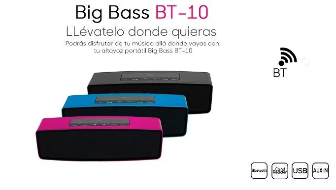 Woster Big Bass BT-10