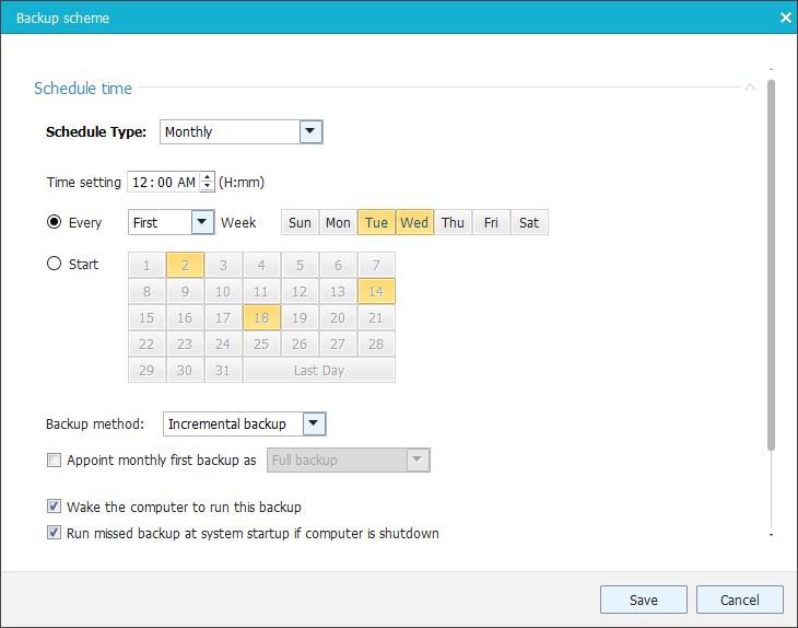 Cómo hacer una copia de seguridad