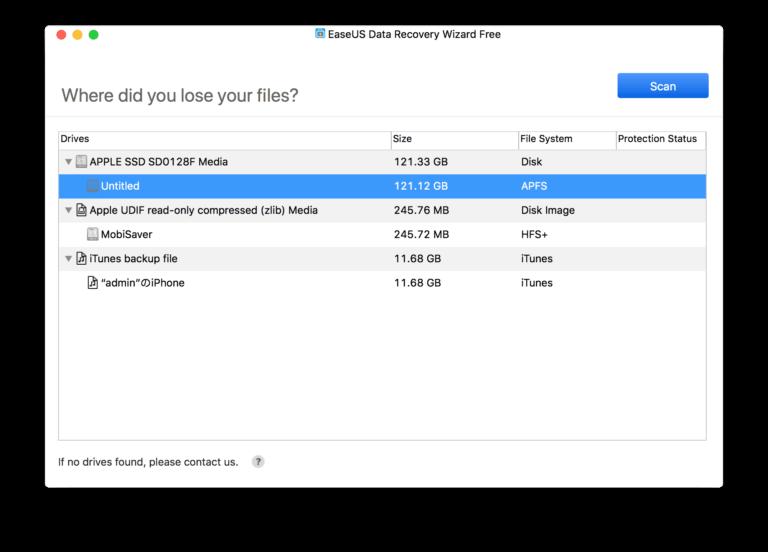 Cómo recuperar archivos borrados en Mac