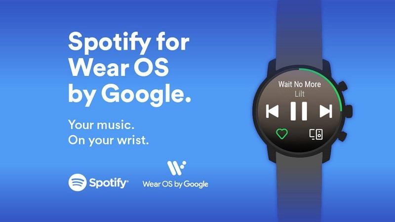 Spotify para Wear OS