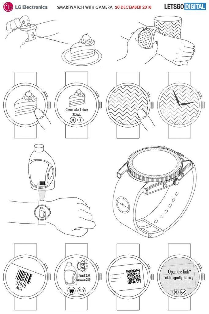 Smartwatch cámara LG